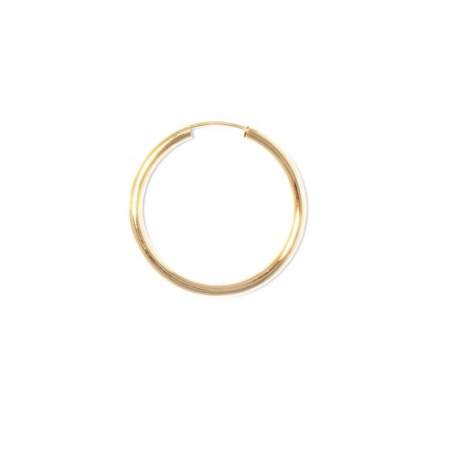 big creole single 30mm gold ohrring ariane ernst
